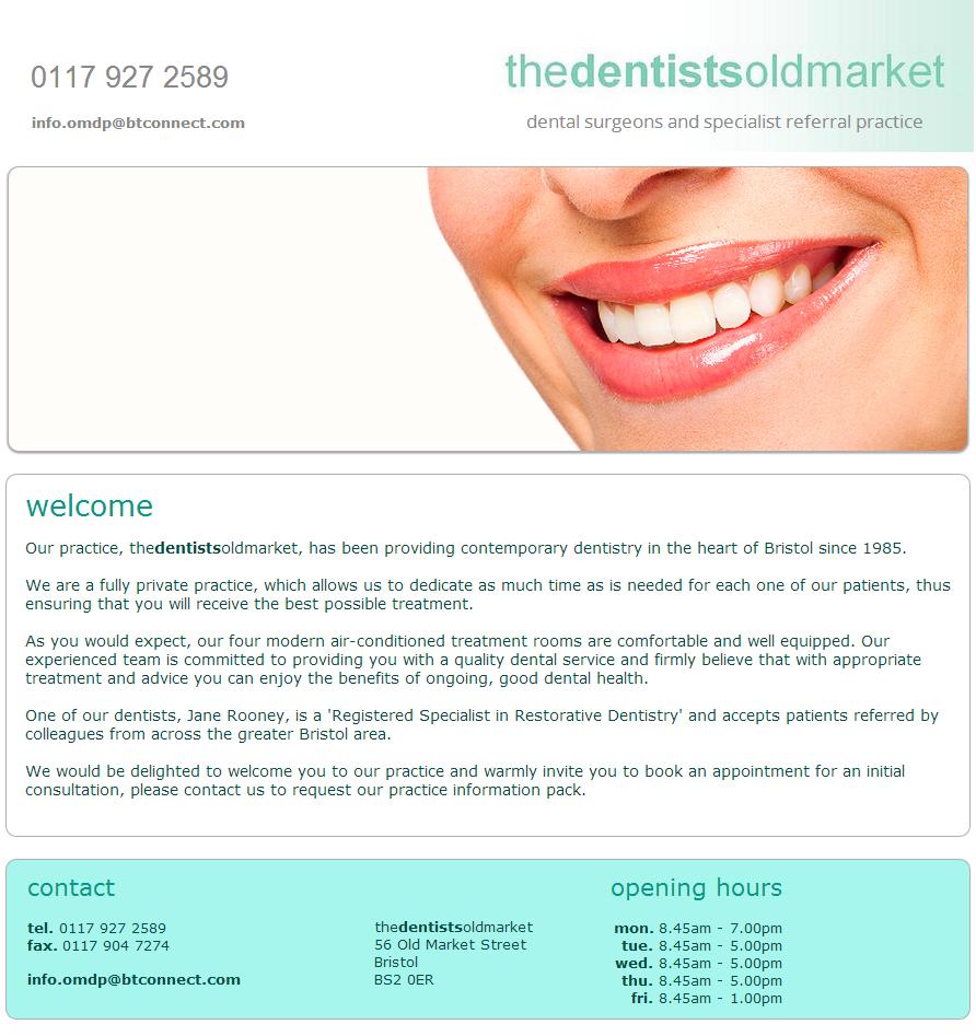 dentist old market embed page