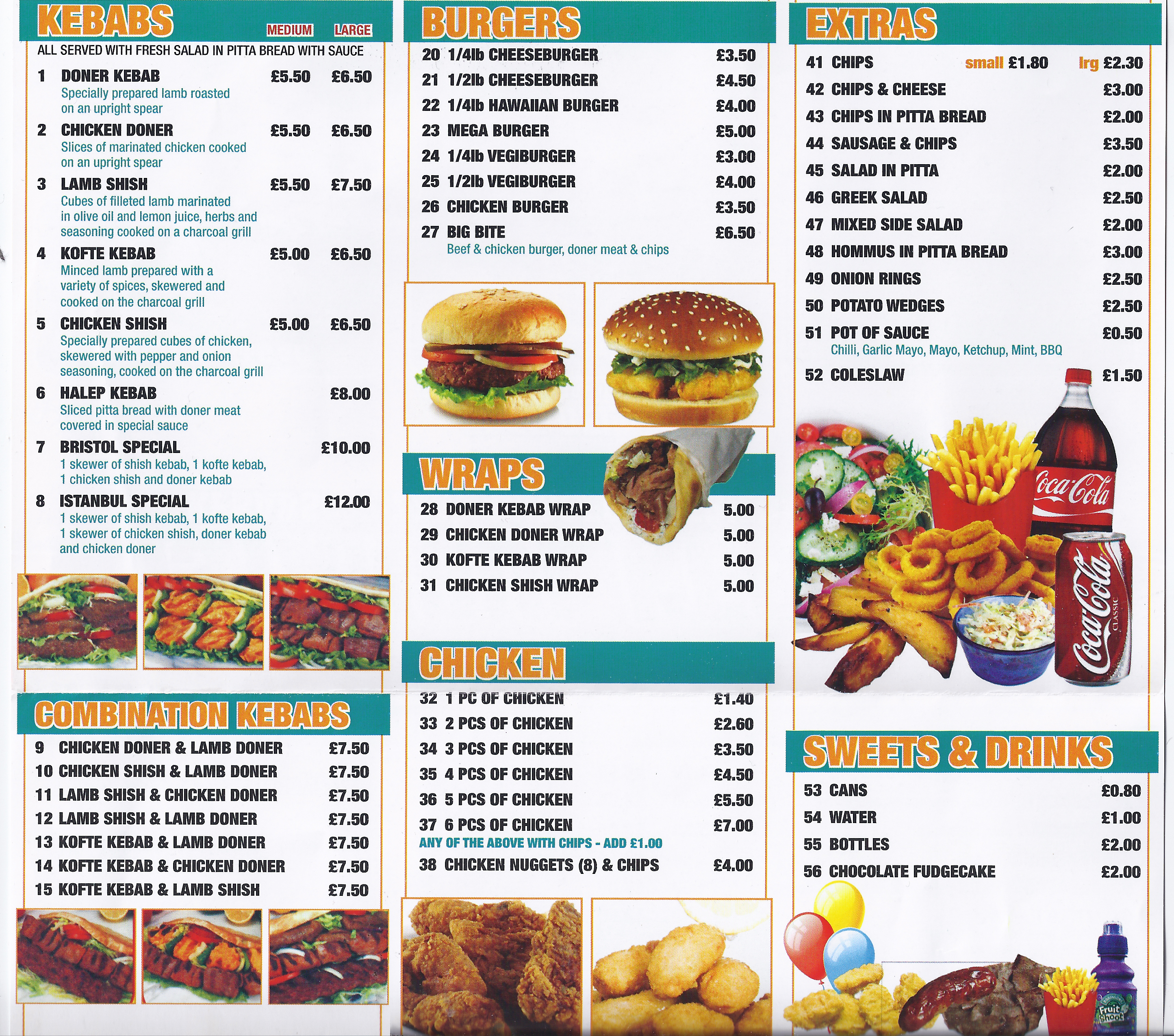 pick up or order delicious pizza takeaway food from istanbul kebabs in